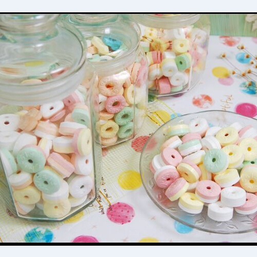 OEM Decorative Circle Candy, Blend The Snacks