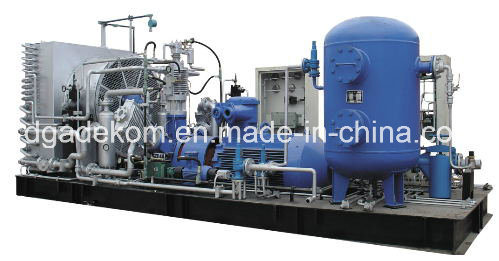 High Pressure Reciprocating Piston Nactural Gas CNG Compressor