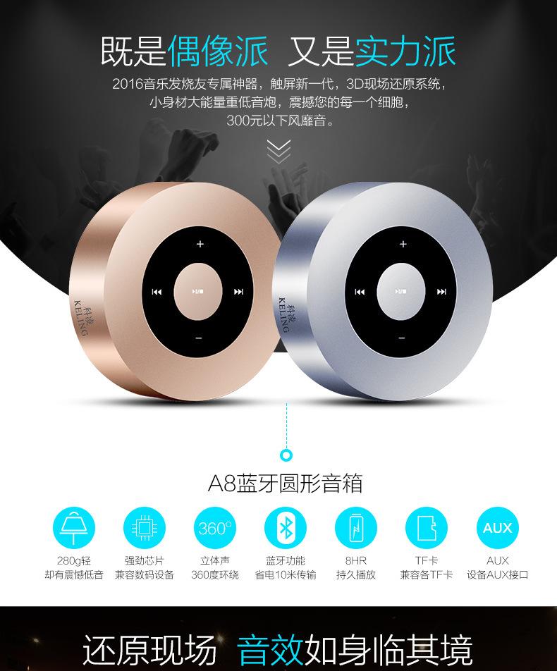 Karaoke Active Portable Mini Bluetooth Wireless Speaker