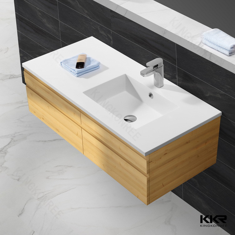 Solid Surface Stone Bathroom Cabinet Basin Sanitary Ware