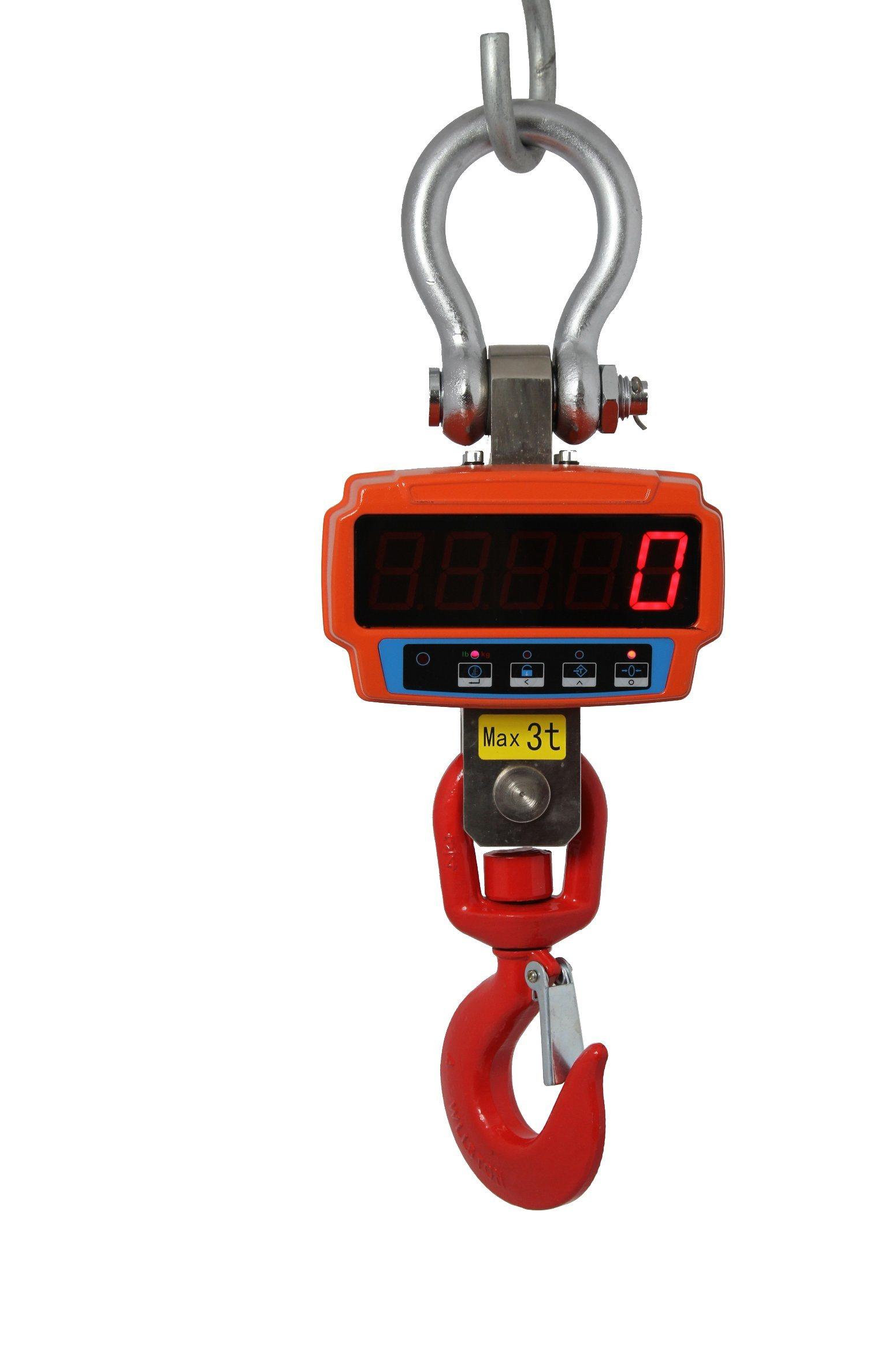 2t Digital Rotated Crane Scale Hanging Scale XZ-JJE