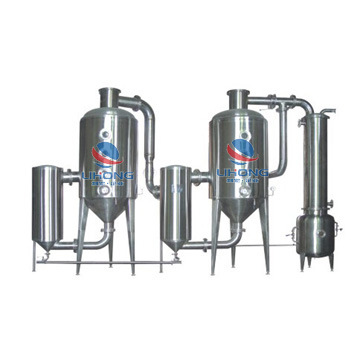 Stainless Steel Steam Heating Double Effect Concentrating Equipment for Herbal