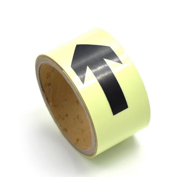 Reflective Tape Lemon Yellow Weatherproof Strong Glass Beads