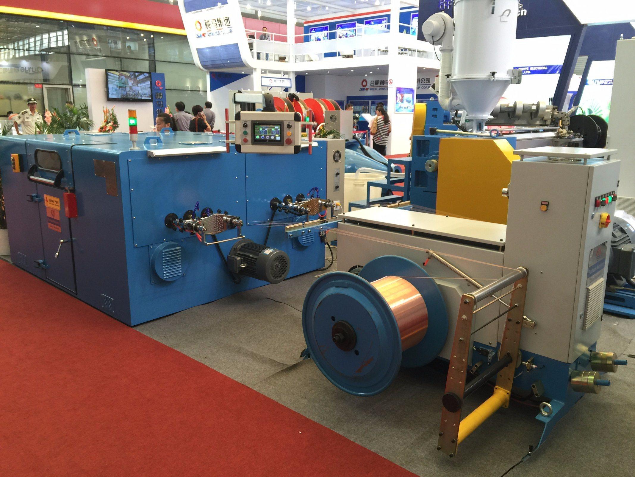 FC-300c Copper Wire Double Twisting Machine