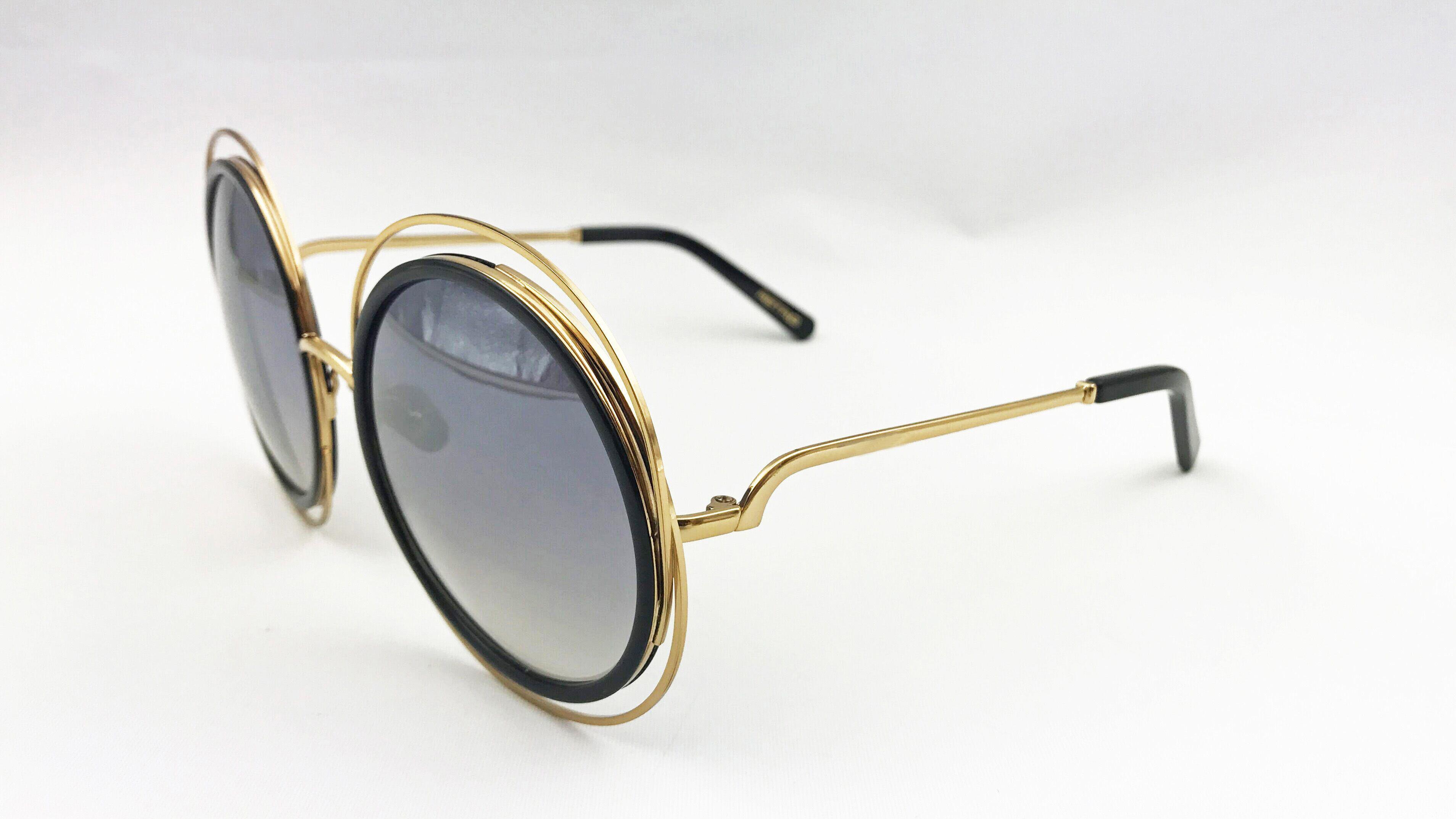 Round Shape Acetate Sunglasses