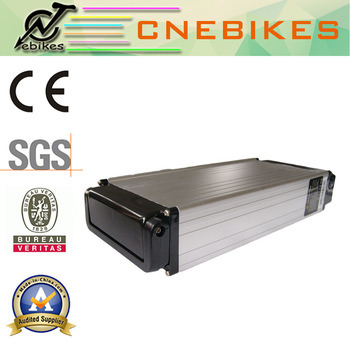 New Arrival Rear Rack E-Bike Lithium Battery 48V 15ah Battery Pack