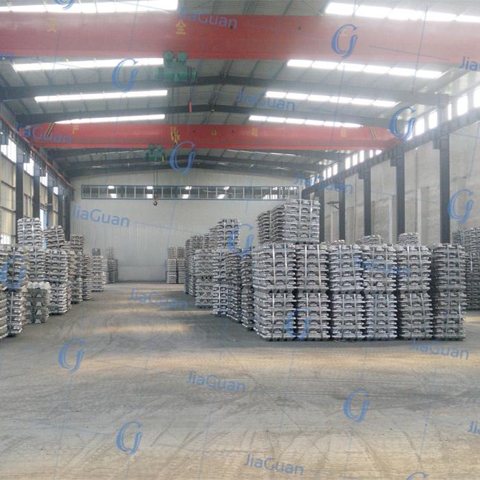 Grade a 99.7% A00 Aluminum Ingots