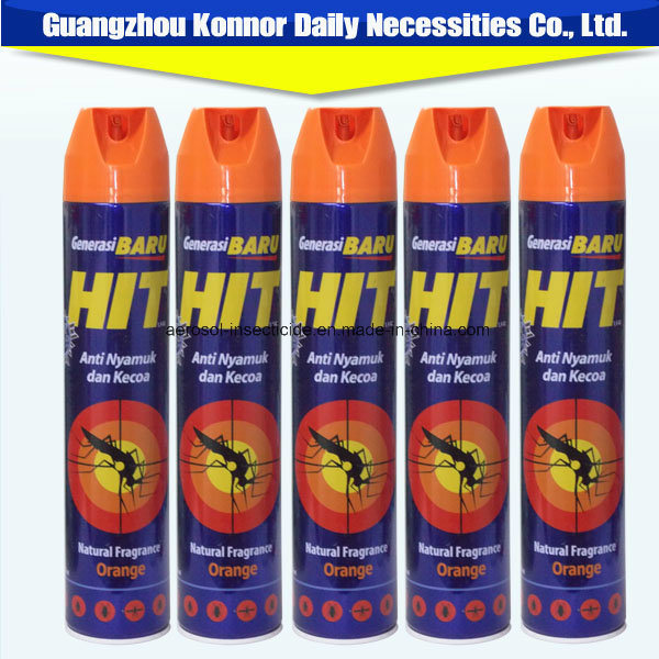 Hot Sale 400ml Chemical Insecticide Spray with Best Spray