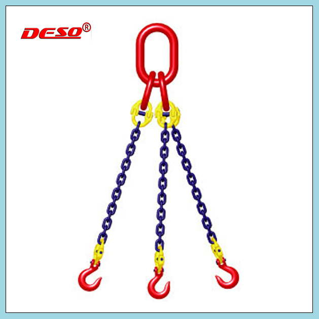 Alloy Steel Chain Sling with Triple-Leg