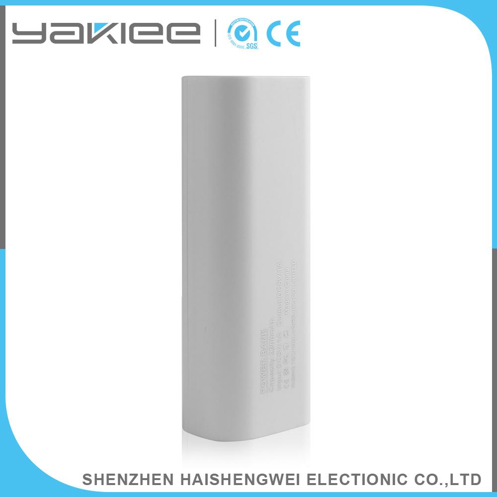 2000mAh/2200mAh/2600mAh Portable Mobile Power Bank with LED Light