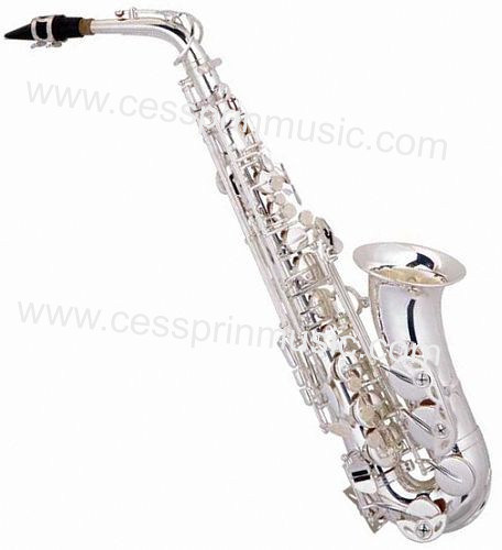 Hot Sell/Alto Saxophone /Silver Saxophone / Woodwinds /Cessprin Music (CPAS003)