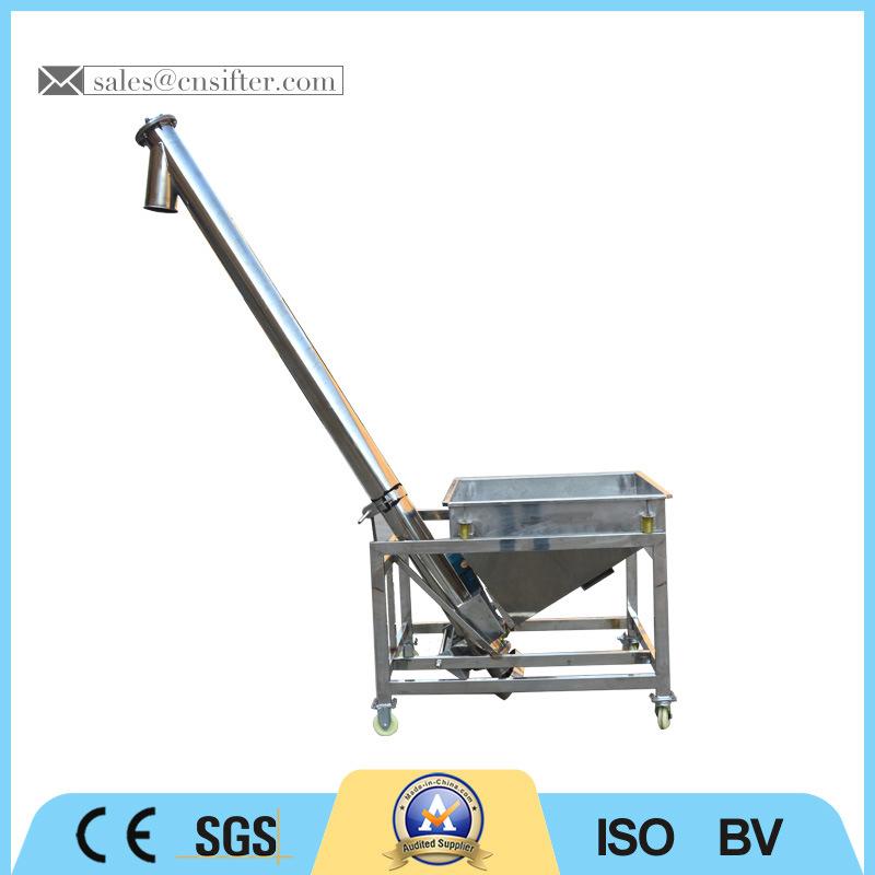Low Price Spiral Flexible Hopper Screw Conveyor
