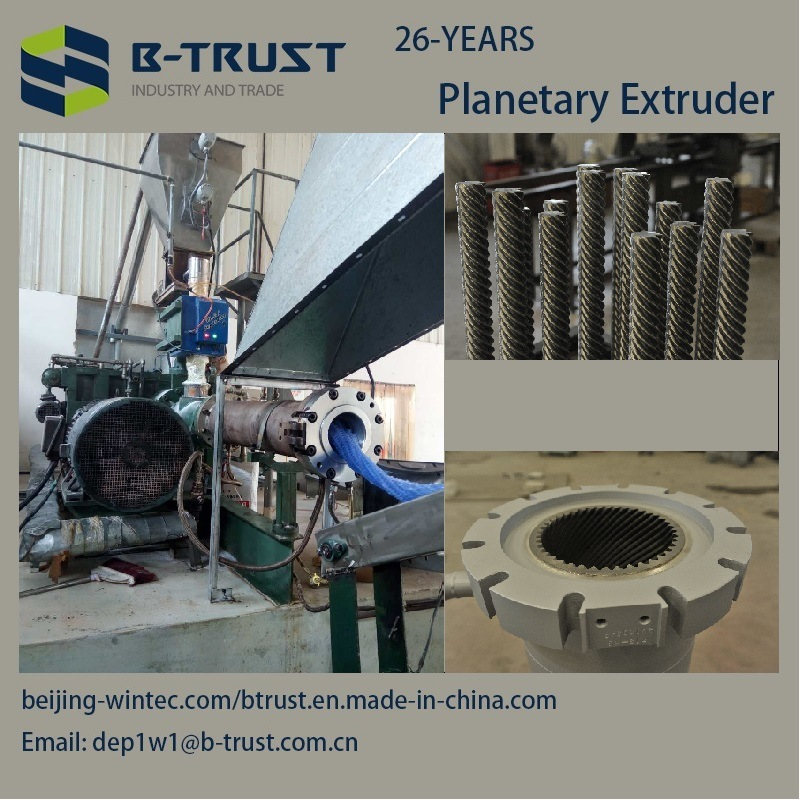 5 Roll PVC Calendering Line with Planetary Extruder
