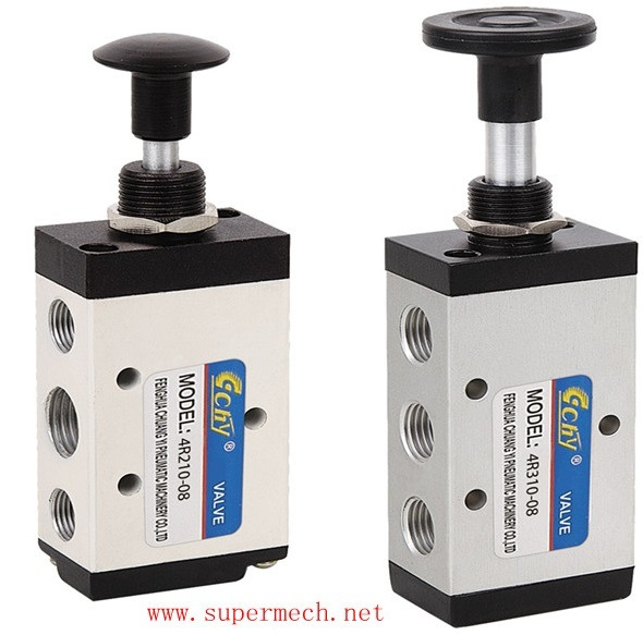 4r Series Pneumatic Control Hand Pull Valve Airtac Model