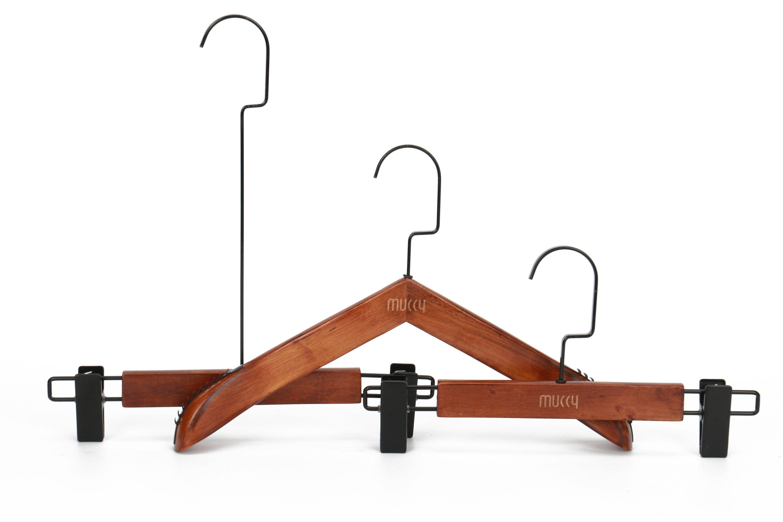 Beech Wooden Hanger for Kids Clothes