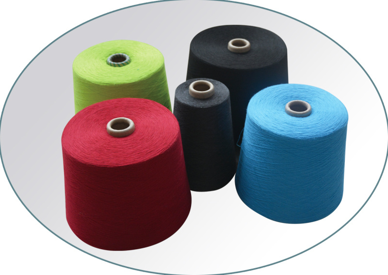 Colored Polyester Spun Yarns for Spinning