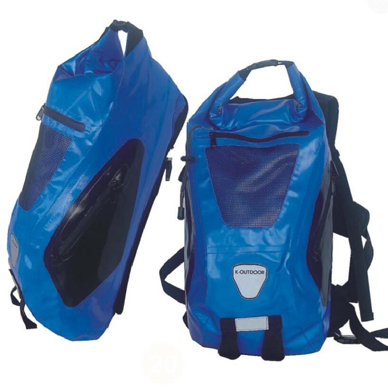 5-60L Custom Logo Bicycle TPU/PVC Tarpaulin Dry Waterproof Backpack
