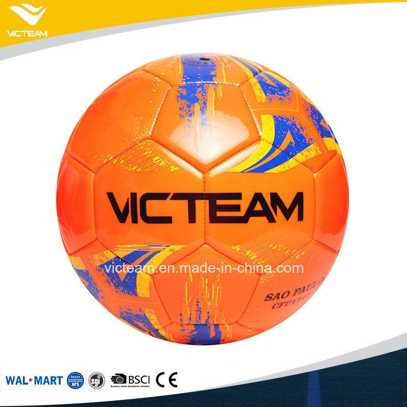 Entry Level Good Stitched Orange PVC Foam Football