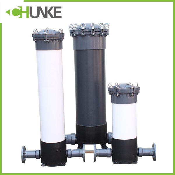 "PVC / Ss 20"" PP Cartridge Water Filter Housing Equipment"