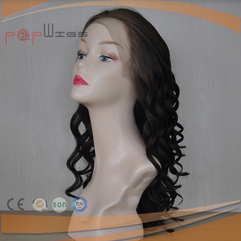 Natural Color Full Human Remy Virgin Hair Lace Wig