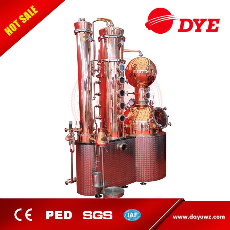1000L High Quality Beer Copper Stills Distillery Equipment