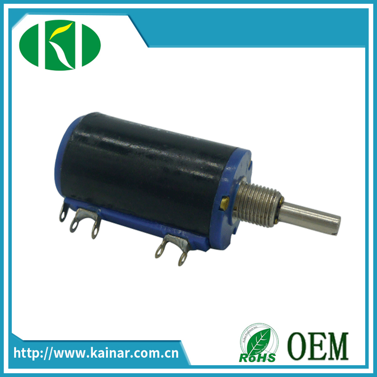 Wxd3-13 10 Turns Wire Wound Potentiometer
