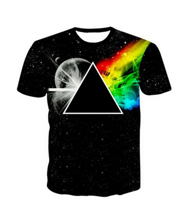 Custom Printing 100% Cotton 3D T-Shirts