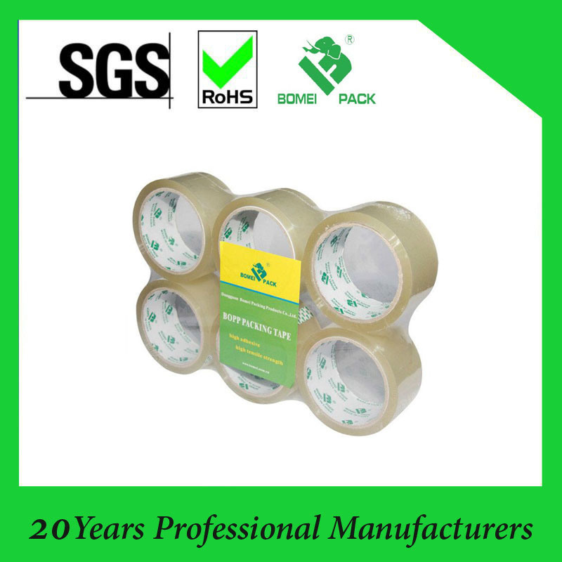Clear and Brown BOPP Packing Adhesive Tape / OPP Tapes