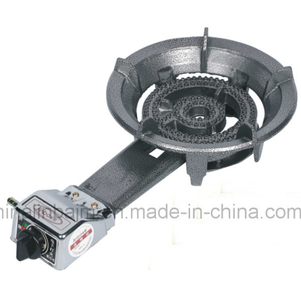 2 Rings Cast Iron High Pressure Gas Stove
