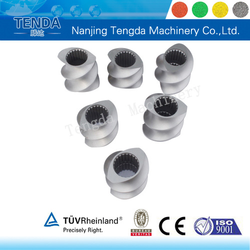 Neutral Packing Screw Component for Twin Screw Extruder
