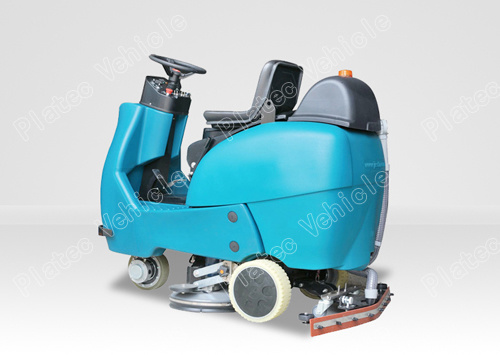 Industrial Driving Type Automatic Electric Fooor Scrubber, Dryer, Cleaning Machine