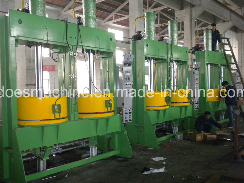Dual-Mold Tyre Curing Press Machine with Automatic Hydraulic