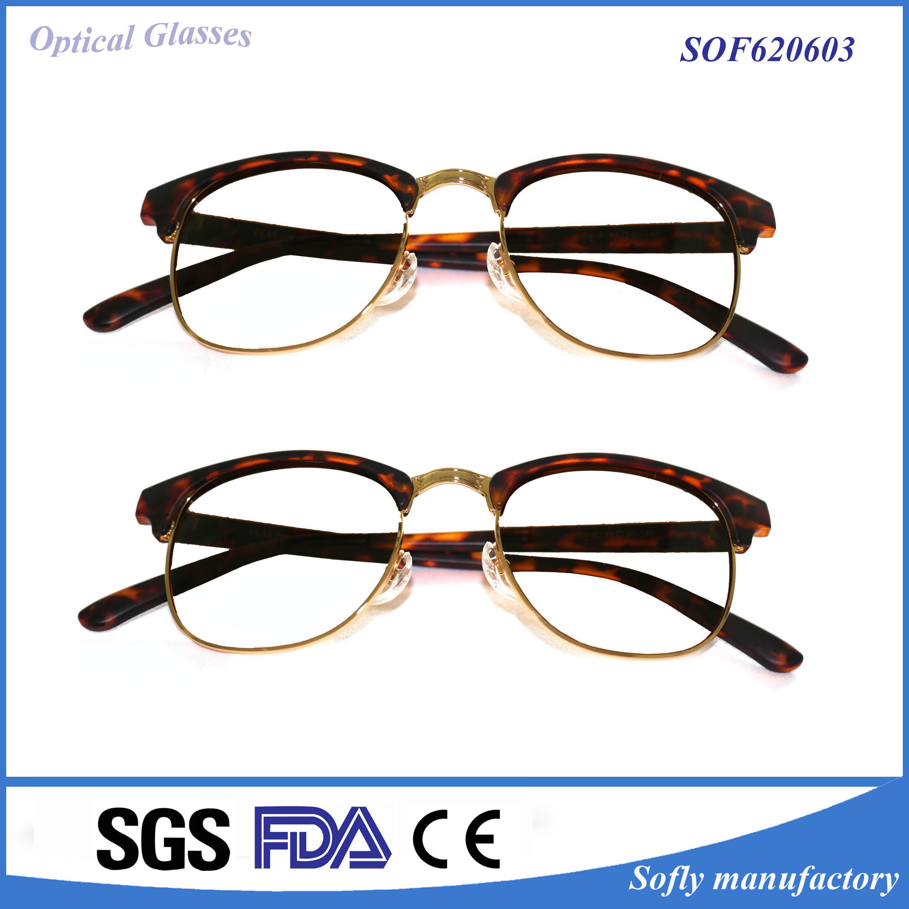 Thin/Light Fashion Design Reading/ Presbyopic Glasses