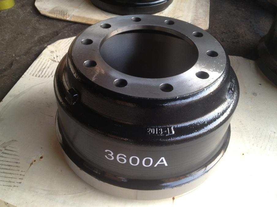 High Quality 3600A Truck Brake Drum