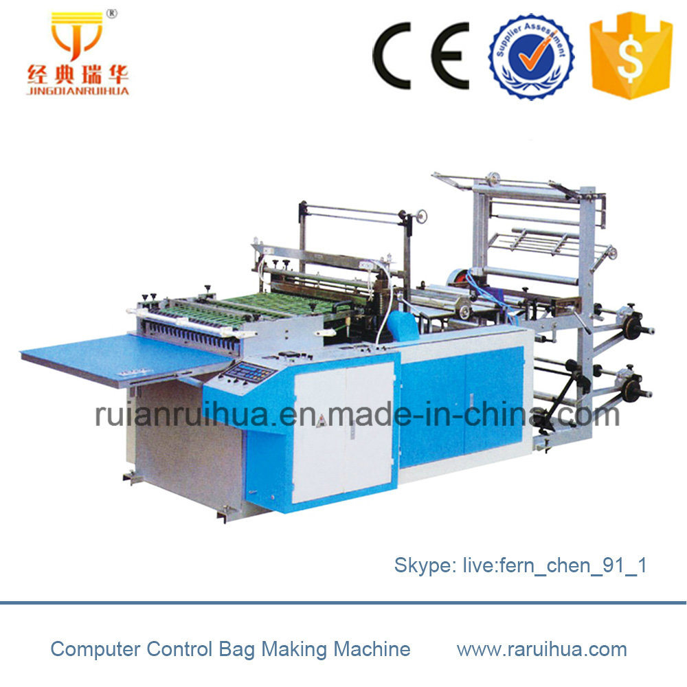 Heat Cutting Air Bubble Film Bag Making Machine