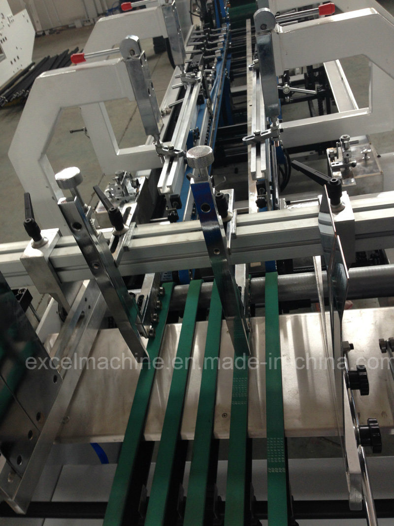 Automatic Folder Gluer Machine with Pre-Folder and Crash Lock Bottom