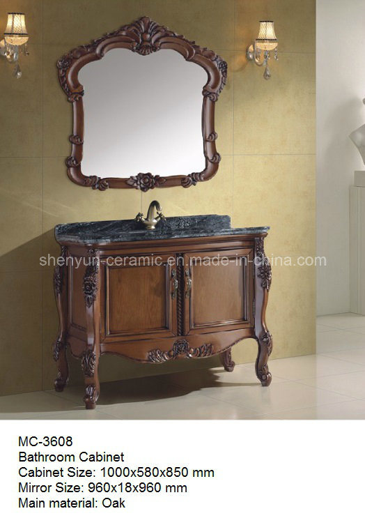 Bathroom Furniture Bathroom Cabinet with Wash Basin (MC-3608)
