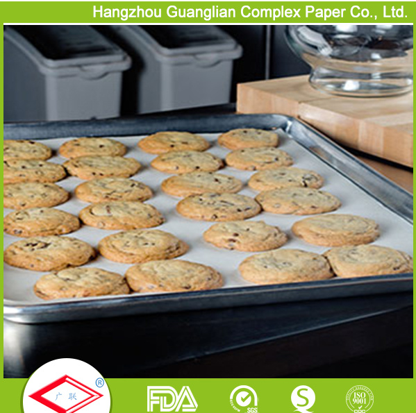 Bakery Hotel Supply Unbleached Parchment Paper Baking Sheet Liner