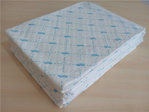 Palmjoy Single Color Printed Under Pad, Dignity Sheets