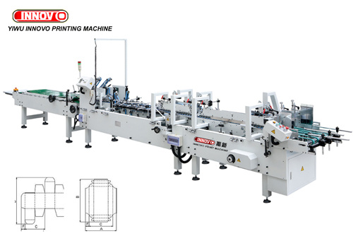 Automatic Folder Gluer with Pre Folding Section (ZX-580-780PF)