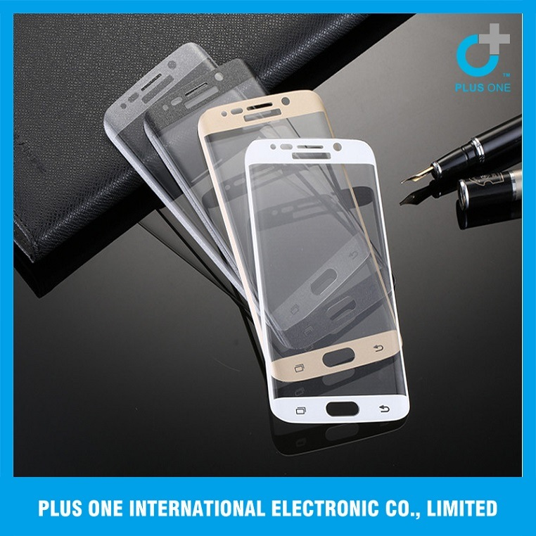Full Cover Tempered Glass Screen Protector for S6 Edge Plus