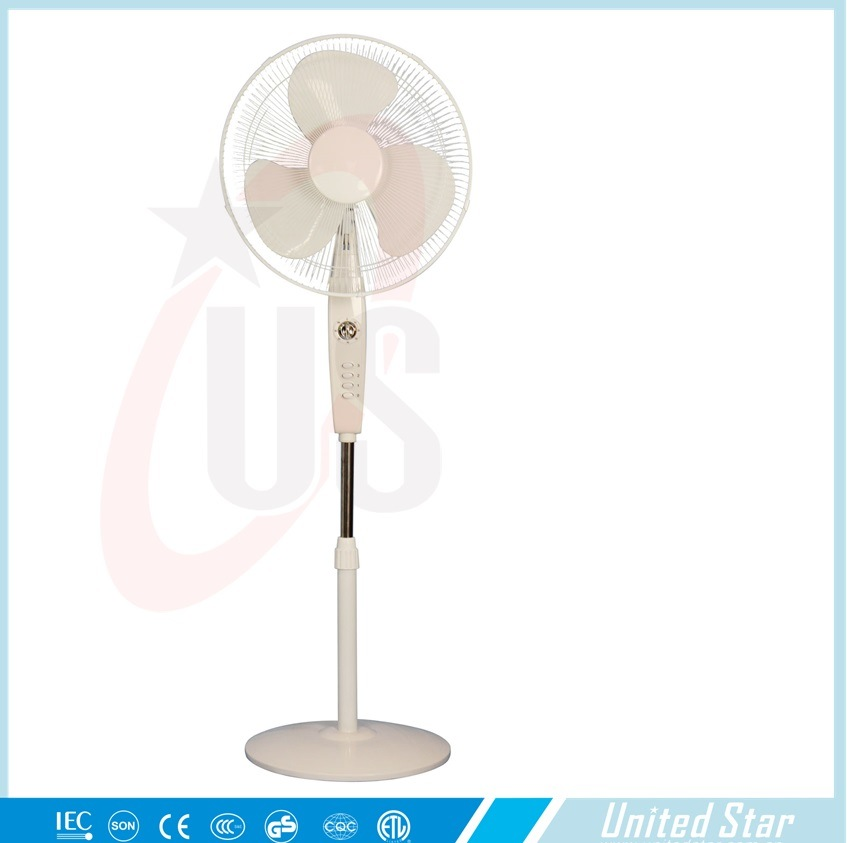 16′′ Plastic Electric Round Base Cooling Stand Fan