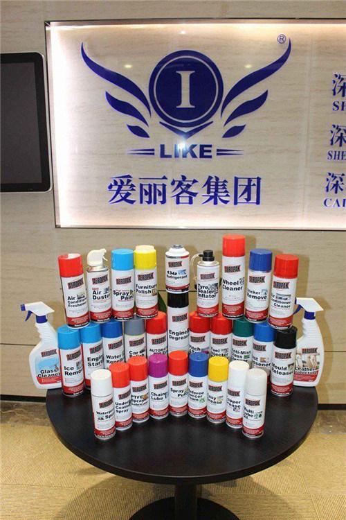 Aeropak fluorescent Chrome Effect Spray Paint