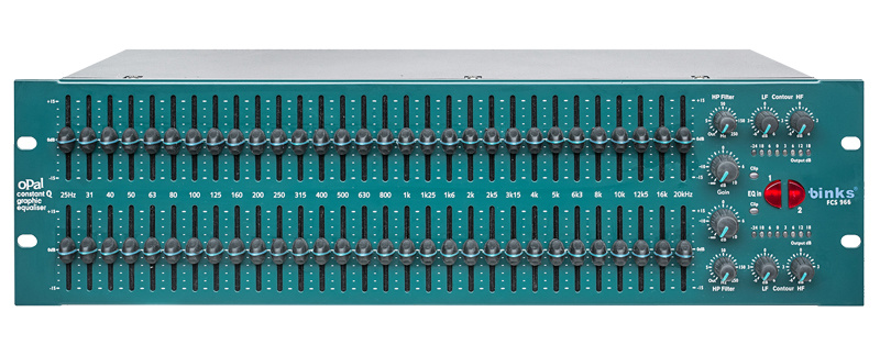 Fcs966 Dual 30 Bit Graphic Equalizer