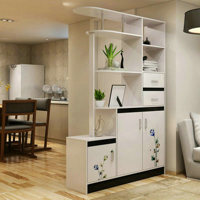 Wooden Livingroom MDF Board Cabinet Book And Wine Rack (FS C012) Part 59