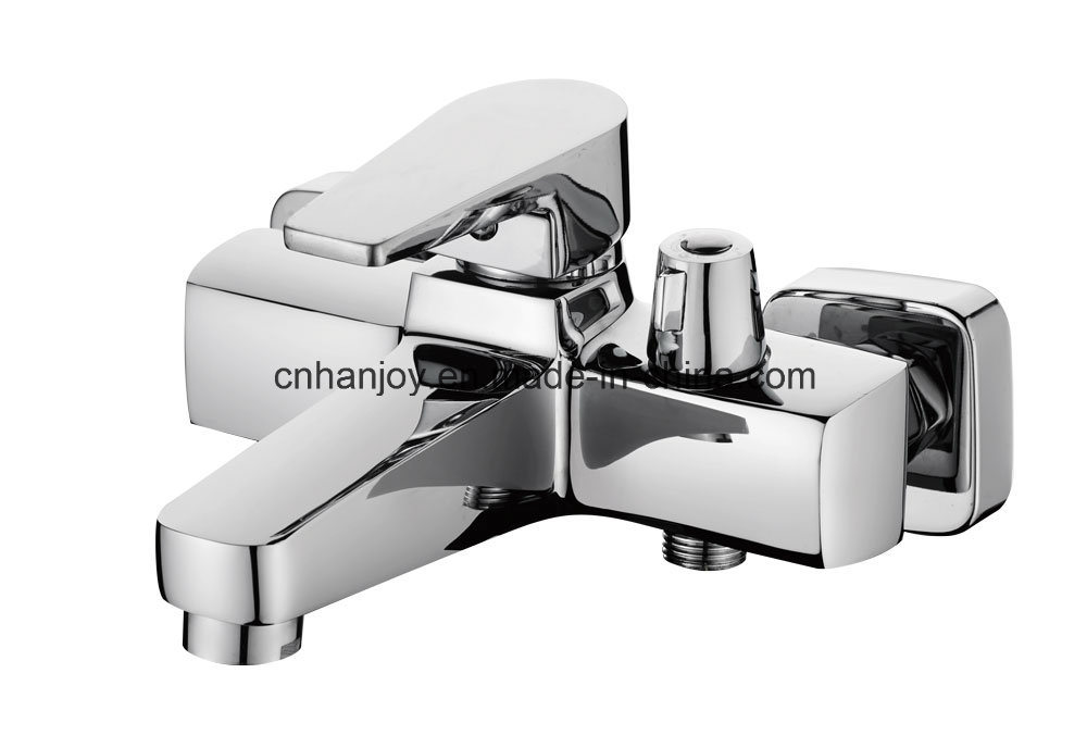 New Model Wall Mounted Single Handle Bathtub Faucet (H02-102)