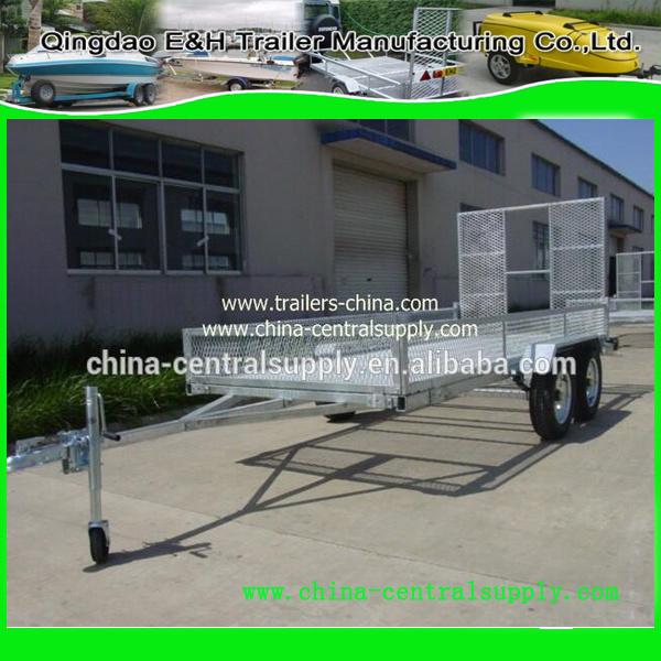 Heavy Duty Factory Made 3.7X1.55m ATV Trailer (CT0090D)