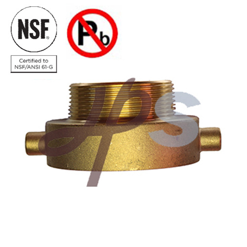 Lead Free Fire Hydrant Adapters for Fire Extinguisher System
