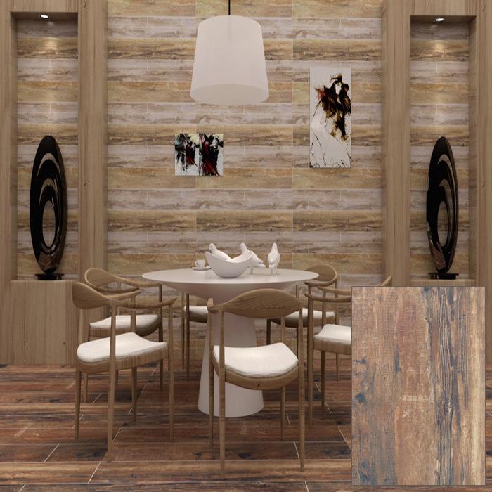 Rustic Wood Grain Floor Wall Tile (DK6907)