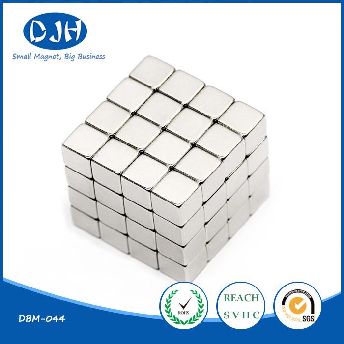 Permanent Sintered Rare Earth Block Neodymium Iron Boron NdFeB Magnet